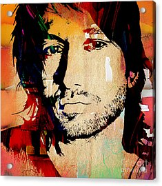 Keith Urban Collection Acrylic Print