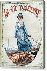 La Vie Parisienne 1918 1910s France Cc Acrylic Print by The Advertising Archives