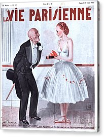 La Vie Parisienne 1935 1930s France Acrylic Print by The Advertising Archives