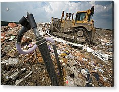 Landfill Gas Recovery Well Acrylic Print
