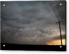 Acrylic Print featuring the photograph Let The Storm Season Begin by NebraskaSC