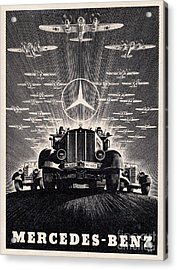 Mercedes - Benz Acrylic Print