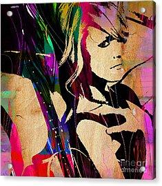 Miranda Lambert Collection Acrylic Print