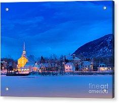 Mont Saint Hilaire Quebec Winter Acrylic Print