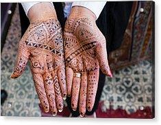 Morocco, Marrakech Acrylic Print