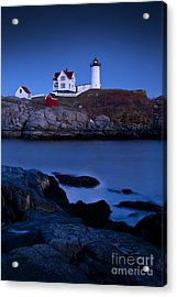 Nubble Lighthouse Acrylic Print by Brian Jannsen