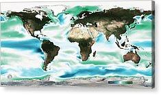 Ocean-atmosphere Co2 Exchange Acrylic Print
