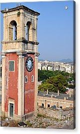 Old City Of Corfu Acrylic Print