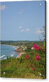 Punta Serena Villas And Spa Acrylic Print by Douglas Peebles