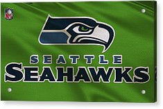 Seattle Seahawks Uniform Acrylic Print