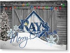 Tampa Bay Rays Acrylic Print by Joe Hamilton