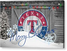 Texas Rangers Acrylic Print