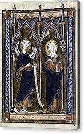 The Annunciation Acrylic Print