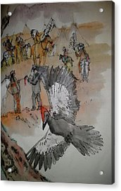 the last wars of NEZ PERCE album Acrylic Print