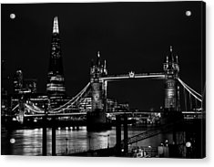 The Shard And Tower Bridge Acrylic Print