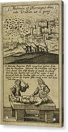 The Teares Of Ireland Acrylic Print by British Library