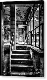 This Is The Way Step Inside Acrylic Print