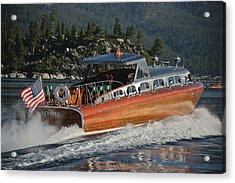 Thunderbird Lake Tahoe Acrylic Print by Steven Lapkin