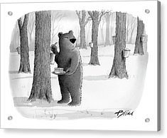 New Yorker April 2nd, 2007 Acrylic Print