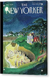 New Yorker August 11th, 2008 Acrylic Print