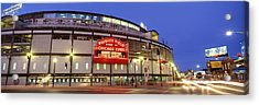 Usa, Illinois, Chicago, Cubs, Baseball Acrylic Print by Panoramic Images