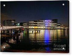 Waterfront Acrylic Print by Jorgen Norgaard