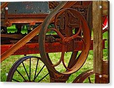 Wheels Of Time Acrylic Print by Rowana Ray