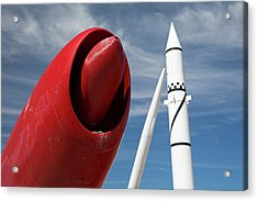 White Sands Missile Range Museum Acrylic Print by Jim West