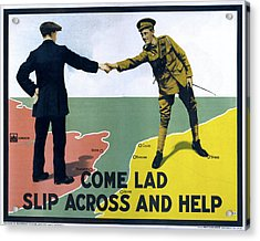 Wwi Poster, 1915 Acrylic Print by Granger