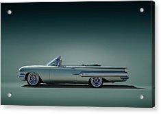 60 Impala Convertible Acrylic Print