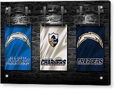 San Diego Chargers Acrylic Print by Joe Hamilton