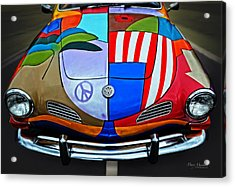 60s Wild Ride Acrylic Print by Mary Machare