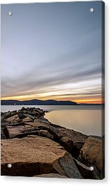 Acrylic Print featuring the photograph 60secs Of Light by Anthony Fields
