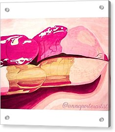 Sensuality Acrylic Print by Anna Porter