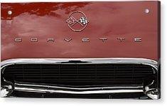 62 Corvette Acrylic Print