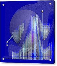 629 - City Of Future 5 .... Acrylic Print