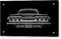 '63 Impala Acrylic Print