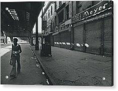 Bushwick Section Of Brooklyn Acrylic Print