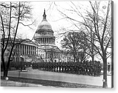 63rd Infantry Ready In Dc Acrylic Print