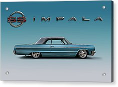 '64 Impala Ss Acrylic Print