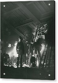 64 Killed In Lewis Ham Rail Disaster Acrylic Print by Retro Images Archive