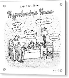 New Yorker December 24th, 2007 Acrylic Print