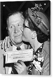 64000 Dollar Question 1955 Acrylic Print by Granger