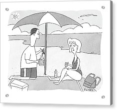 New Yorker July 28th, 2008 Acrylic Print