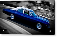 67 Chev Impala Acrylic Print by Phil 'motography' Clark