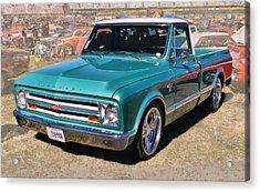 '67 Chevy Truck Acrylic Print
