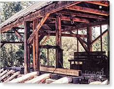 676 Sl Sutters Mill 4 Acrylic Print by Chris Berry