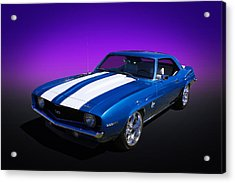 69 Camaro Acrylic Print