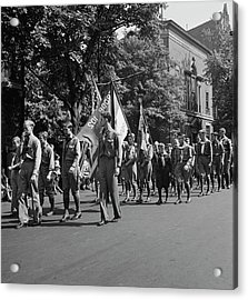 Anniversary Day Parade Of The Sunday Acrylic Print by Stocktrek Images