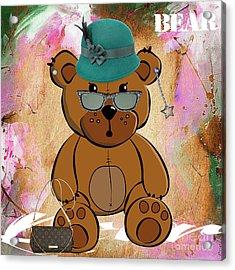 Baby Bear Collection Acrylic Print by Marvin Blaine